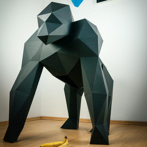 Papierstandobjekt Papertrophy Gorilla XXL