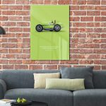 Acryldruck ludopfeil - einzigartiger Acrylprint grün
