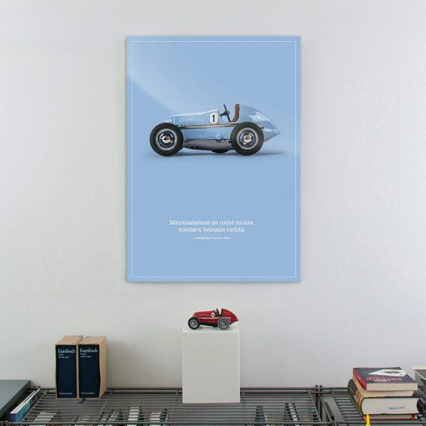 Acryl-Print ludopfeil