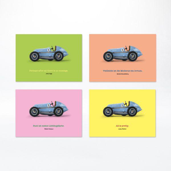 Design-Modellauto ludopfeil