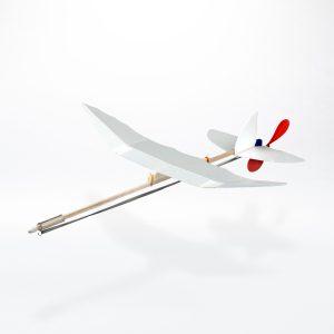 Gummimotor Flugzeug