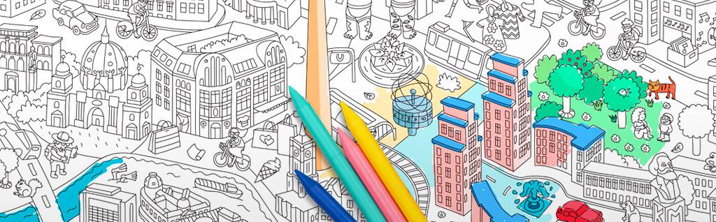 Mit dem Stift durch die Stadt