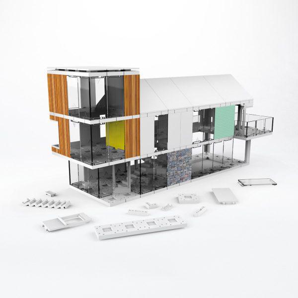Architekturbausatz ARCKIT 120
