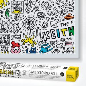 Ausmalposter XXL – Keith Haring