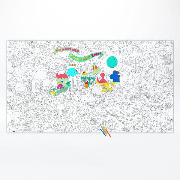 Ausmalposter XXL – Jeff Koons