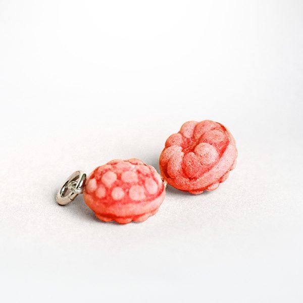 Minischmidt Miniatur-Schmuckanhänger Himbeerbonbon